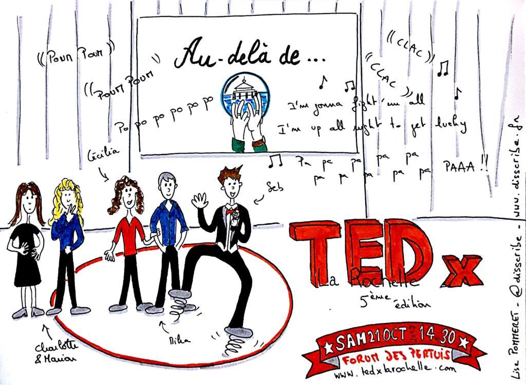 Lise Pommeret Sketchnote TedX La Rochelle 2017 - 00.Intro
