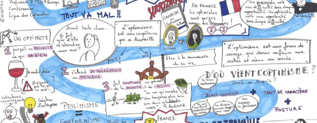 Sketchnote - optimisme - disscribe